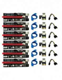 Pack 6 Unidades - Riser...
